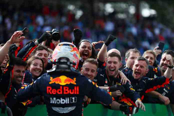 2019 Brazilian Grand Prix, Sunday - Max Verstappen (image courtesy Red Bull Racing)