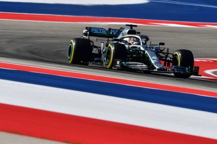 f1chronicle-2019 United States Grand Prix, Friday - Lewis Hamilton (image courtesy Mercedes-AMG Petronas)