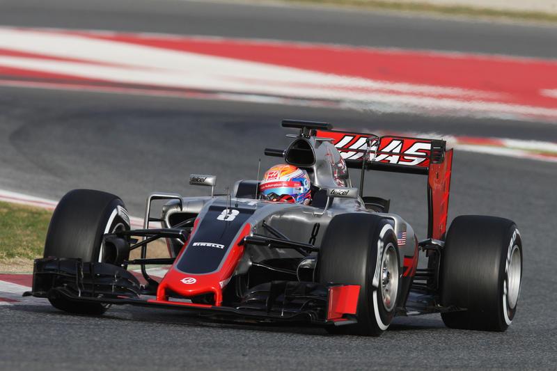 """Haas, Grosjean: """"Prima giornata di test positiva, auto bilanciata"""""""