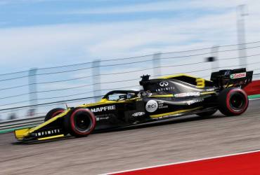 Renault qualifiche GP USA