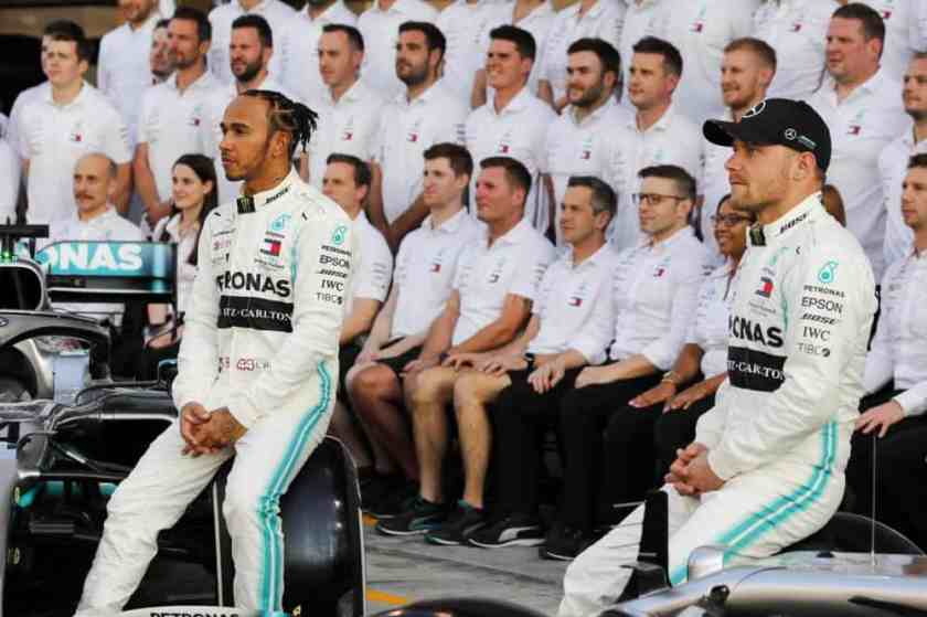 Stagione Mercedes 2019