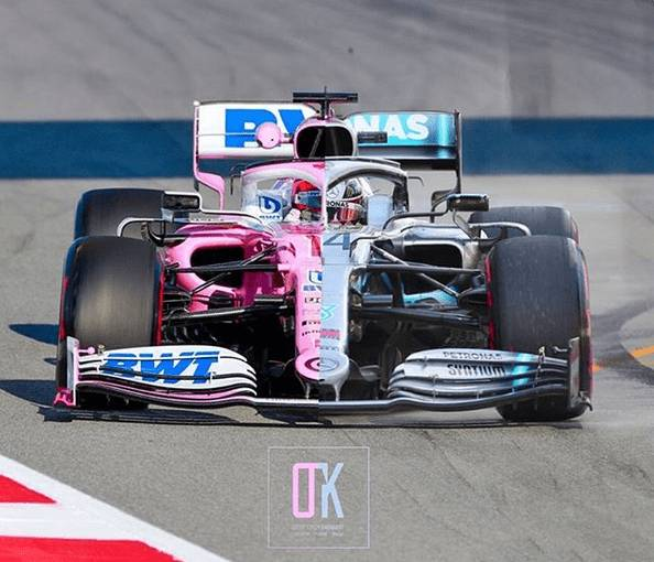 Racing Point Mercedes 2019