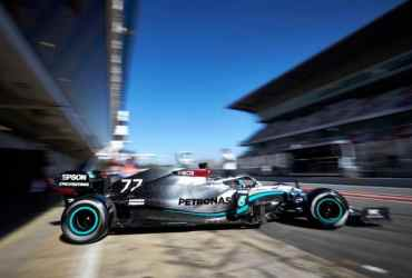 F1 Test Barcellona classifica