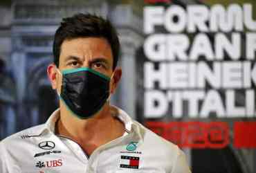 Qualifiche GP Italia Wolff