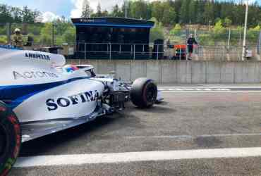 williams f1 anteprima gp italia monza motore mercedes party mode latifi russell spa