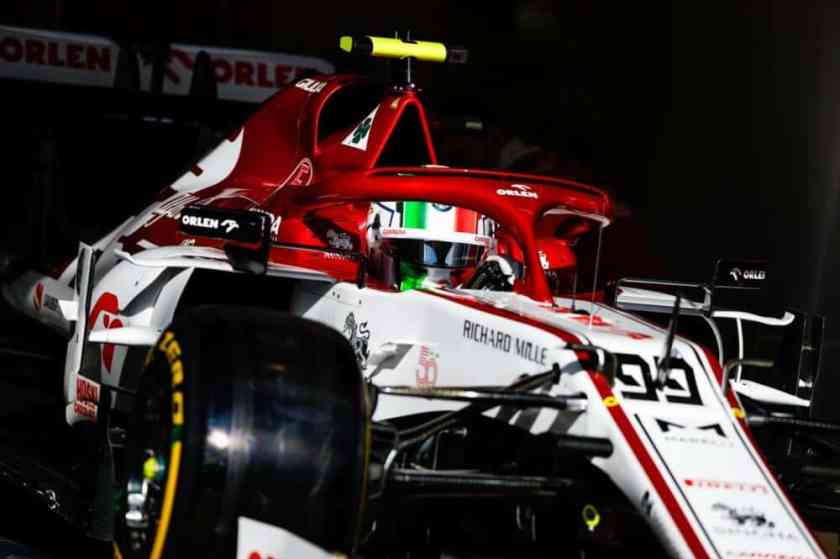Alfa Romeo qualifiche GP Germania