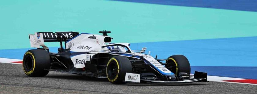 Libere GP Bahrain Williams