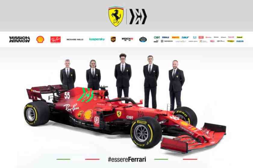 presentazione ferrari power unit