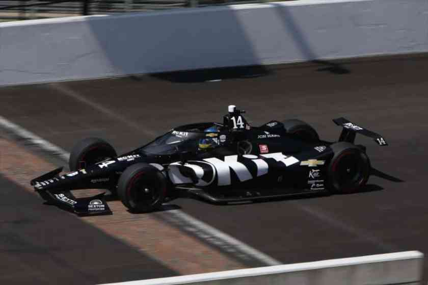 indycar indy open test