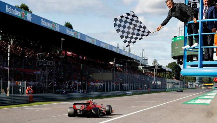 F1 2020 THE CHEQUERED FLAG IS BACK