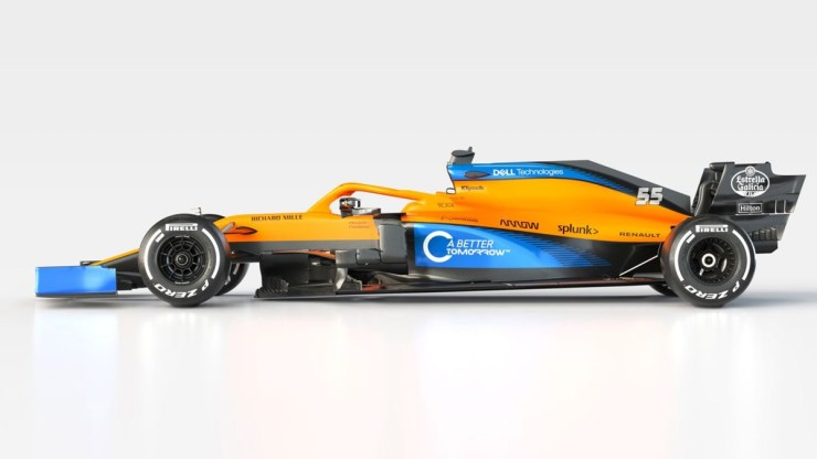 MCLAREN HAS LAUNCHED ITS 2020 CAR, THE MCL35