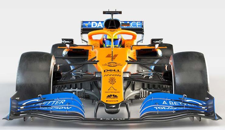 MCLAREN HAS LAUNCHED ITS 2020 CAR THE MCL35