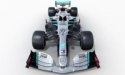 MERCEDES HAS PUBLISHED OFFICIAL RENDERS OF ITS 2020 CAR, THE W11