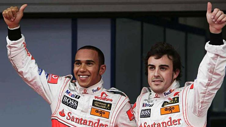 PEDRO DE LA ROSA : LEWIS AND ALONSO WAS THE STRONGEST PAIRING