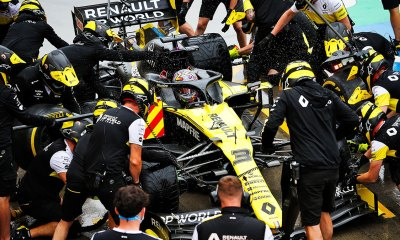 F1 SILVERSTONE IS SET TO SHOW WHAT PROGRESS THE RENAULT F1 TEAM