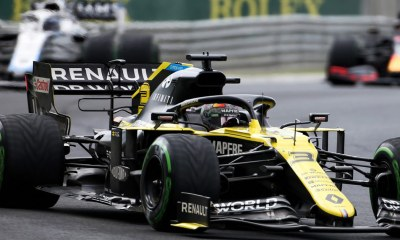 RENAULT HAS OFFICIALLY LODGED A SECOND PROTEST AGAINST RACING POINT
