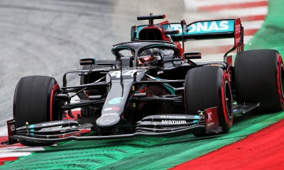 THE SECOND FREE PRACTICE OF THE GP OF AUSTRIA : HAMILTON ALWAYS DOMINATES