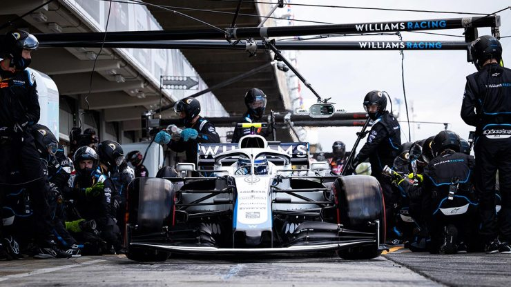 F1THE KEYS TO WILLIAMS SUCCESS HOW YOU CAN CONTINUE TO GROW car stand