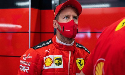 SEBASTIAN VETTEL ADMITTED HE WAS FRUSTRATED