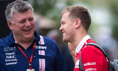 PEREZ WAS AWARE OF RISKING OF LOSING SEAT TO VETTEL SZAFNAUER