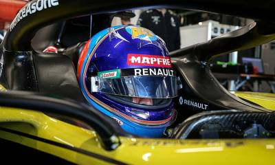 ALONSO TEST RENAULT F1 RS20 ONBOARD VIDEO