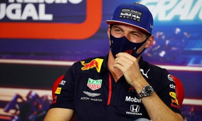 LEWIS IS PUSHING HARD 92 VICTORIES I LL HAVE TO DRIVE ON UNTIL I M 40 VERSTAPPEN