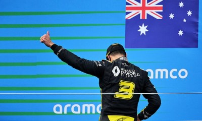 PALMER RENAULT IS SURPRISED TO SEE HOW RICCIARDO IS OUTPERFORMING OCON
