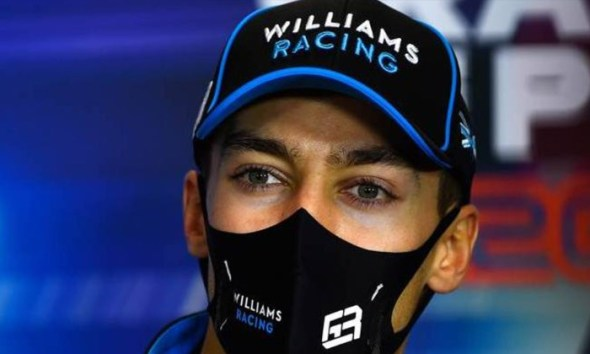 RUSSELL AMID PEREZ RUMOURS I LL BE ON THE GRID NEXT YEAR WITH WILLIAMS