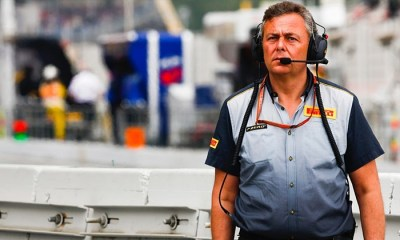MARIO ISOLA PIRELLI F1 BOSS TESTS POSITIVE COVID-19