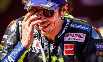ROSSI HAS BEEN GIVEN THE ALL-CLEAR - AFTER TWO NEGATIVE TESTS