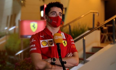 SAKHIR F1 GP - LECLERC ABOUT RUSSELL I COULD BET ON A WIN