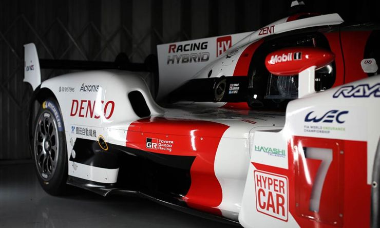 WEC OFFICIAL - FIRST LOOK AT TOYOTA LE MANS HYPERCAR 2021