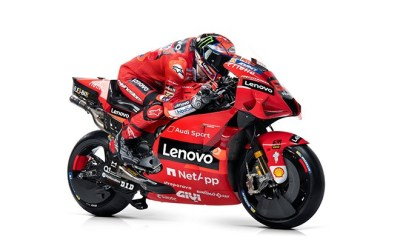 DUCATI REVEALS REVISED 2021 MOTOGP LIVERY