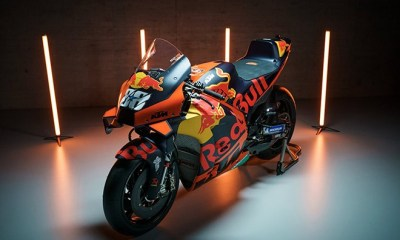 KTM UNVEILS HIS NEW RC16 2021 MOTOGP