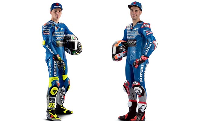 2021 NEW SUZUKI MOTOGP TEAM MIR AND RINS