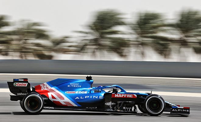 ALONSO F1 TESTING DAY 3 RESULTS