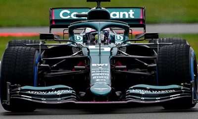 VETTEL AT THE WHEEL AS ASTON MARTIN F1 CAR MAKES TRACK DEBUT AT SILVERSTONE