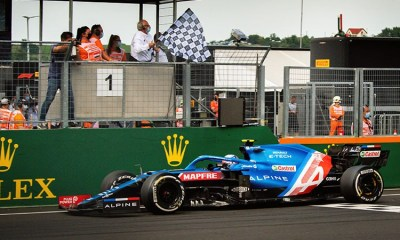 An unexpected weekend for Alpine F1