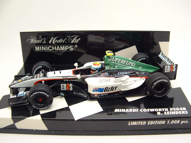 MINARDI COSWORTH PS04B