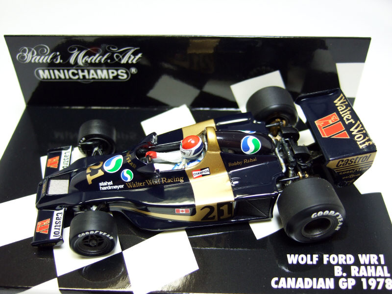 WOLF FORD WR1 CANADIAN GP 1978 Bobby RAHAL