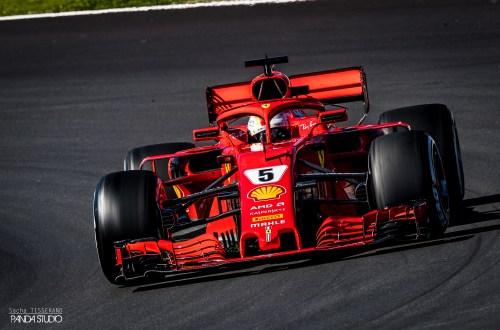 Sebastian Vettel ©Sacha Tisserand