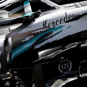 Livrée spéciale Mercedes