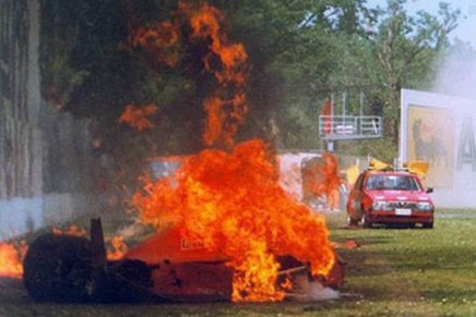 Berger-crash-feu-Imola-1989