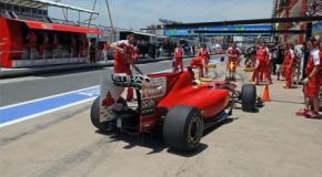 Susto y tranquilidad para Ferrari