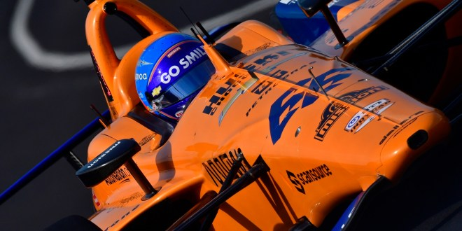 Fernando Alonso, McLaren Racing-Chevrolet. Photo: IndyCar