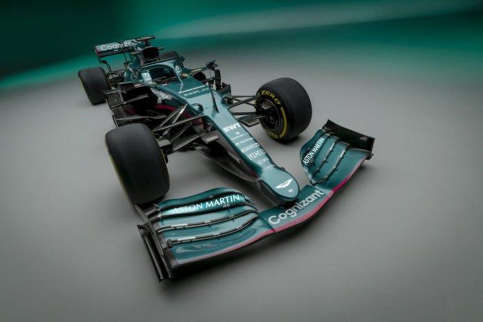 Aston Martin Cognizant Formula One Team AMR21 05 Prezentacje bolidów na sezon 2021