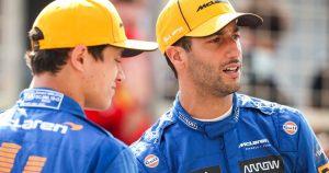 'Norris is giving Ricciardo a mammoth task'