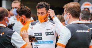 Palmer: Ricciardo's performances 'very weird'