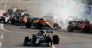 We need to take share of blame for Baku, say Mercedes