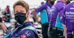 Grosjean set to make IndyCar oval test debut